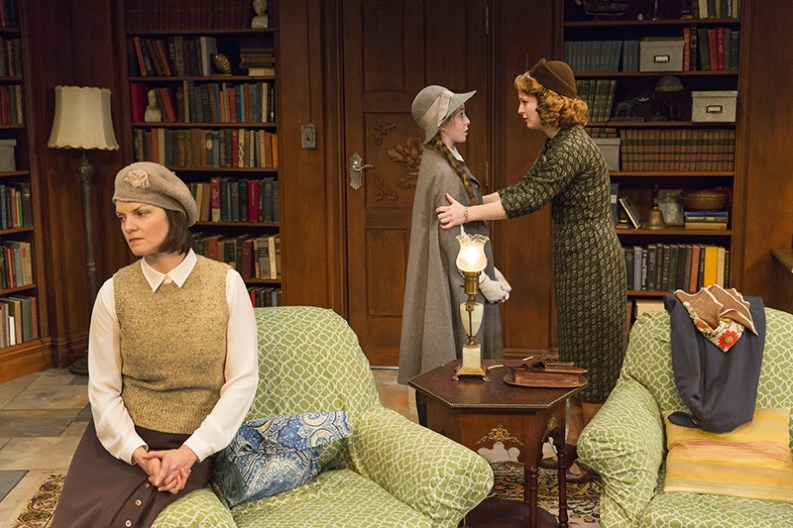 Mint Theater's 2016 New York production of Women Without Men. © Richard Termine