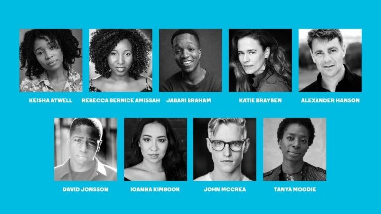 Cast for the UK premiere of Daddy