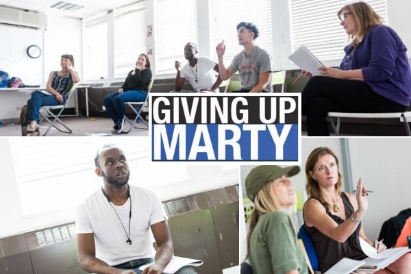 Giving Up Marty - Vault Festival - March 2020