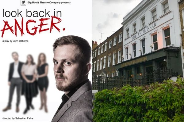 Look Back in Anger runs at the White Bear Theatre 25 February-14 March 2020