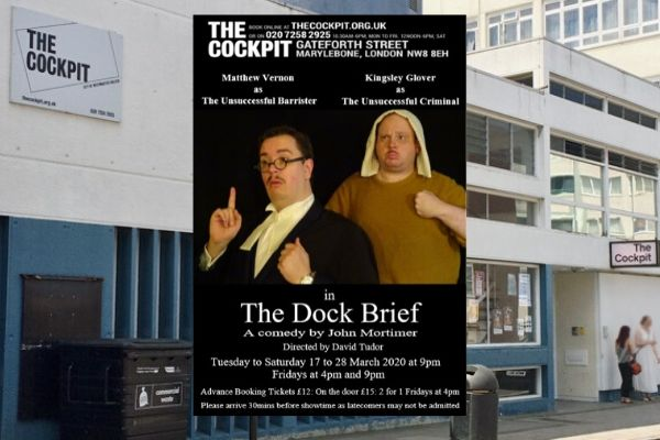 The Dock Brief - Cockpit Theatre - March 2020