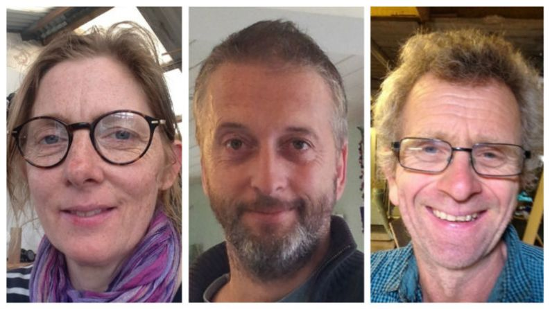 Pipeline Theatre co-founders Jude & Alan Munden, Jon Welch