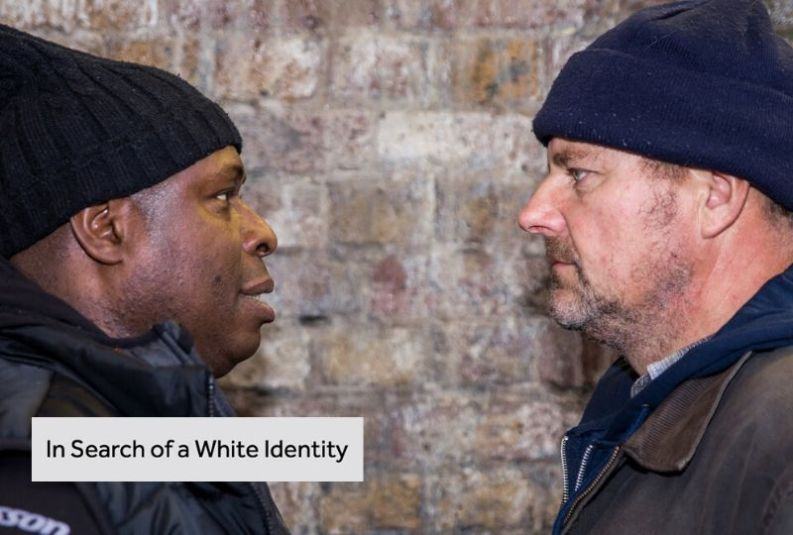 In Search of a White Identity premieres at London's Tristan Bates Theatre 27-28 March 2020