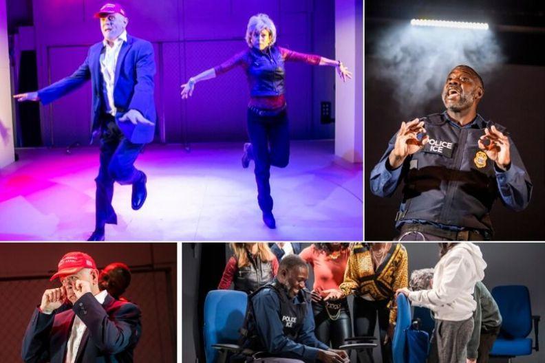 The Special Relationship at Soho Theatre. © Tristram Kenton