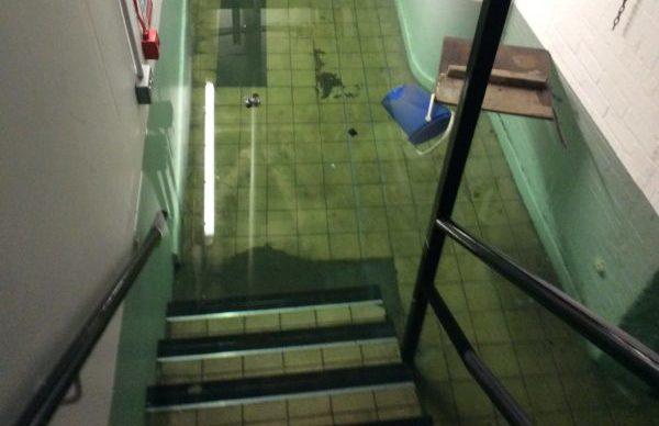 Jermyn Street Theatre flooded
