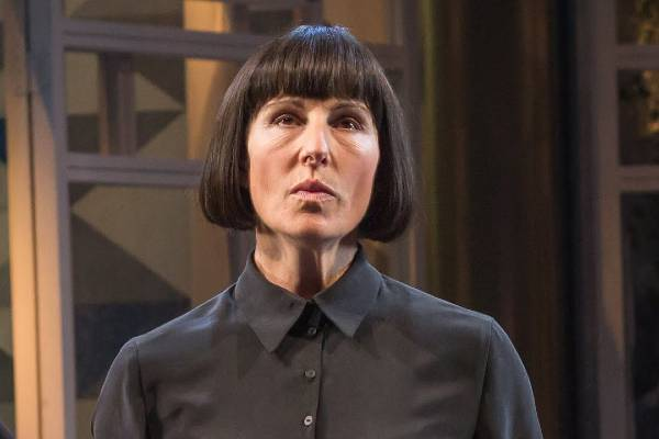 Tamsin Greig in Twelfth Night at the National Theatre