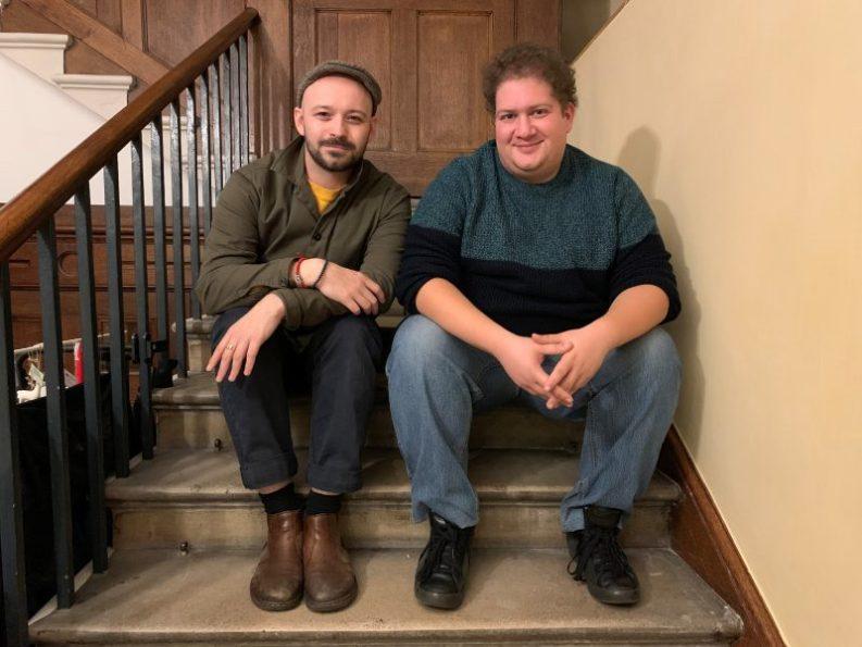 Iris Theatre's Paul-Ryan Carberry and Paul Virides