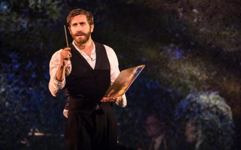Jake Gyllenhaal in the New York production of Sunday in the Park with George