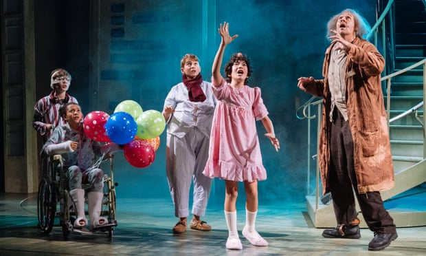 The stage adaptation of David Walliams' The Midnight Gang at Chichester Festival Theatre