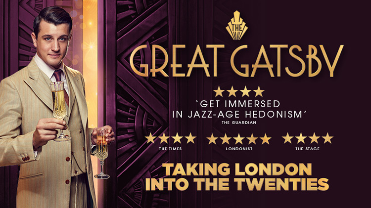 The Great Gatsby was the UK's longest-running immersive production