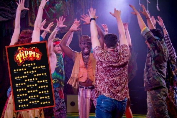 Critics love Pippin at London's Charing Cross Theatre
