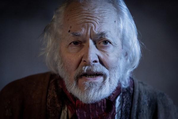 Michael Pennington as Prospero in The Tempest