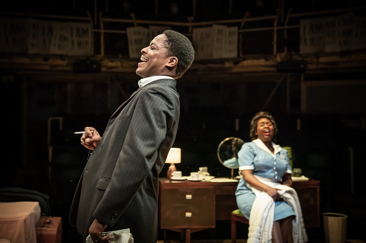 The Mountaintop at Manchester's Royal Exchange Theatre. © Marc Brenner