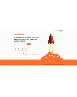 Are you starting a new website? Check out the free launcher landing page theme from MyThemeShop, with 3 different styles designed to help build excitement and capture a user base before your site goes live. Launcher free theme from Mythemeshop. Live demo at http://demo.mythemeshop.com/s/?theme=Launcher