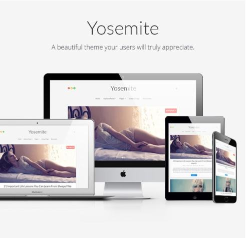 Wordpress Themes Yosemite