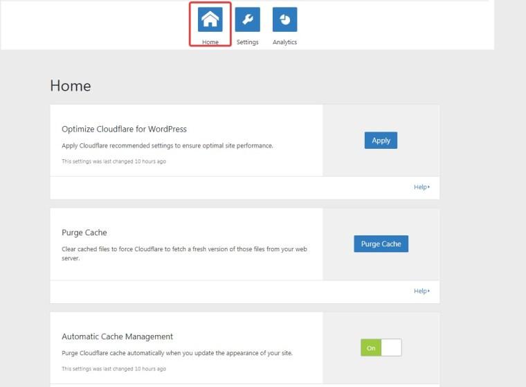 cloudflare-plugin-home