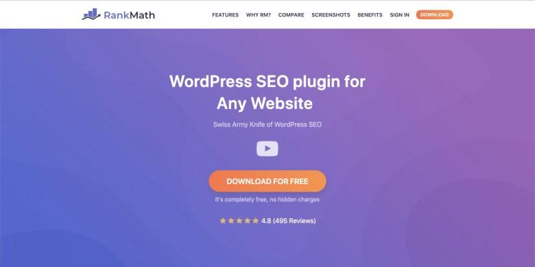Rankmath-seo-plugin-per-wordpress