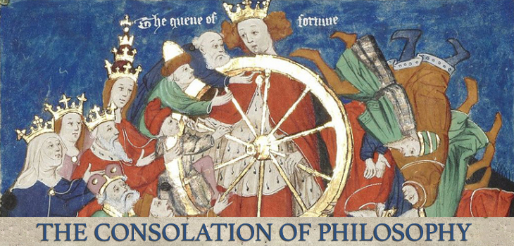 The Consolation of Philosophy by Boethius (header)
