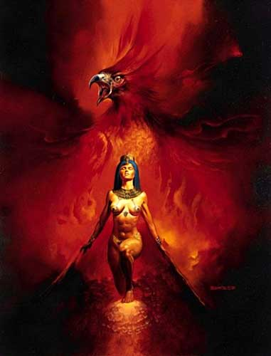 Image result for rebirth from fire art