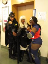 Catwoman, Storm & Wonder Woman united, for now at BCBF