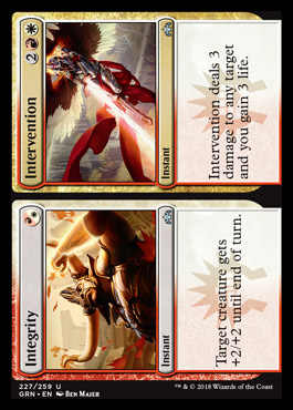 Integrity Intervention Guilds Of Ravnica Visual Spoiler