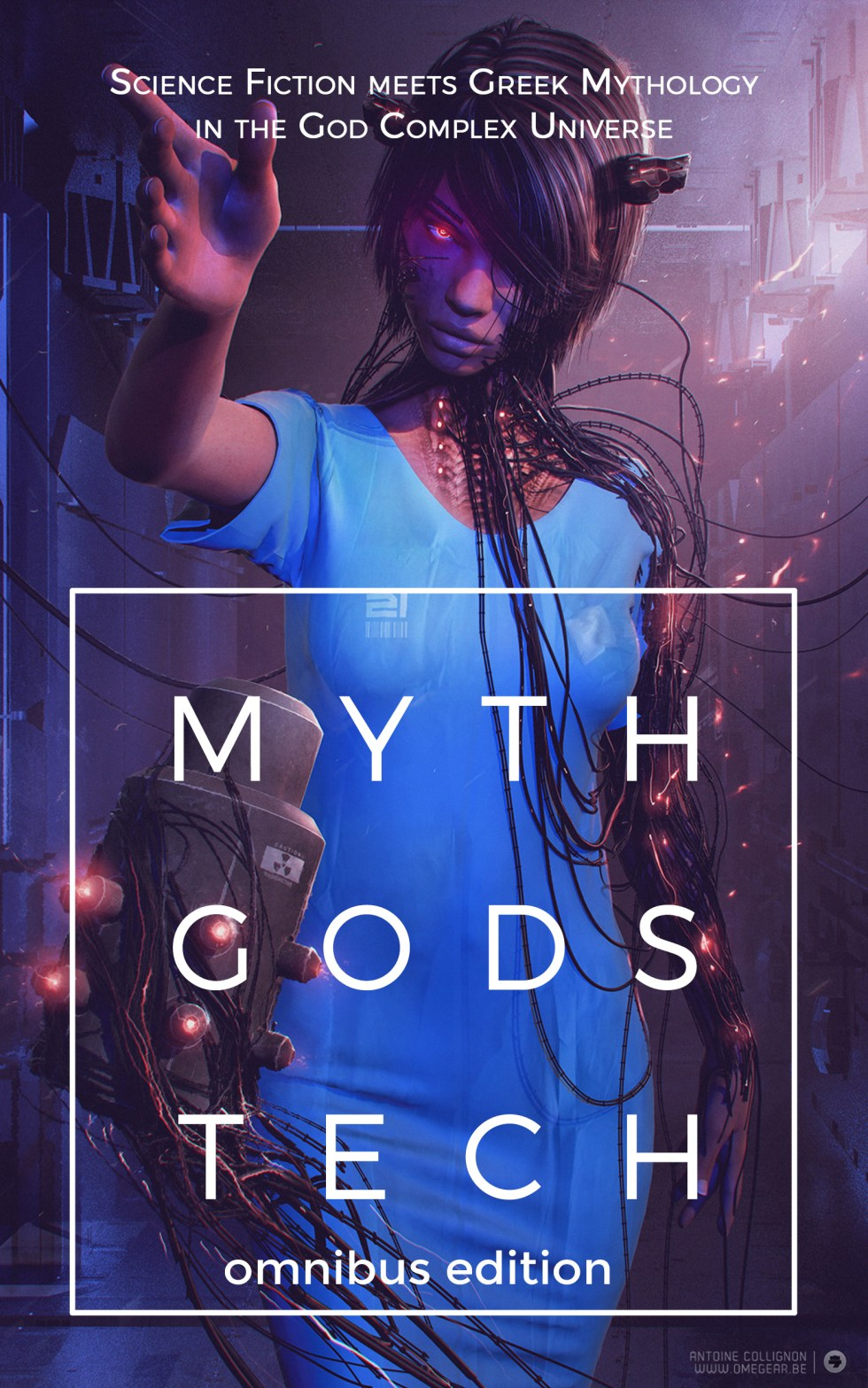 Myth Gods Tech is a constantly updated omnibus of all the books in the God Complex Universe.