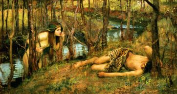 Naiades - John William Waterhouse.