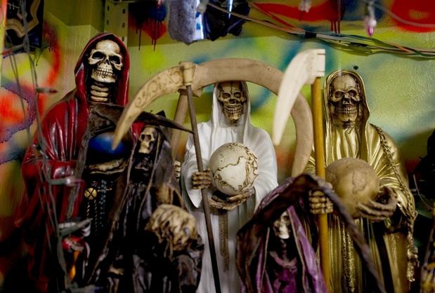 Santa Muerte Mexic culte criminale