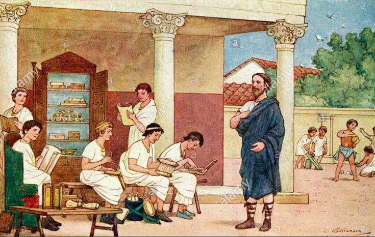 educatia in roma antica