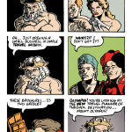 Cronus and the Greek gods discuss the legality of his plan.