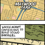 A brief history about Maywood Park.