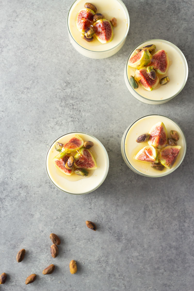 Panna Cotta with Roasted Figs and Honey Recipe Panna Cotta with Roasted Figs and Honey Recipe new pics