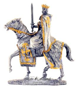 Pewter-King-Arthur-On-Horse-0