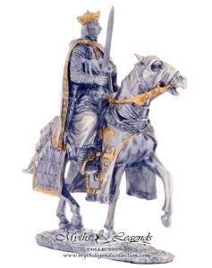 Pewter-King-Arthur-On-Horse-315