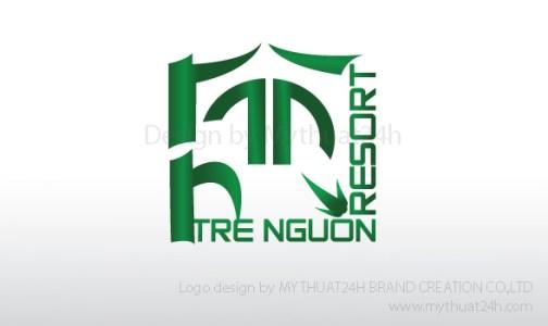 Thiết kế logo Cty TRE NGUỒN Tre Nguon Resort