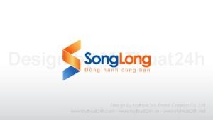 Thiết kế logo Cty TNHH TMDV Song Long