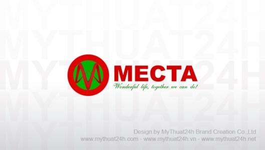 Thiết kế logo công ty Mecta