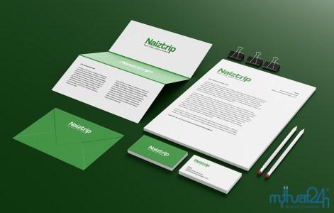Thiết kế logo du lịch Naiztrip