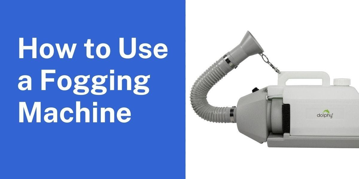 How to Use a Fogging Machine
