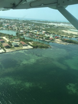 Belize from the air.
