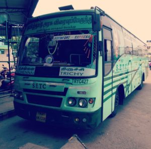 SETC Bus Timing Chennai to Trichy and Trichy to Chennai
