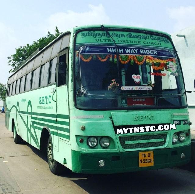 SETC Tirunelveli to Chennai TN 01 N9966