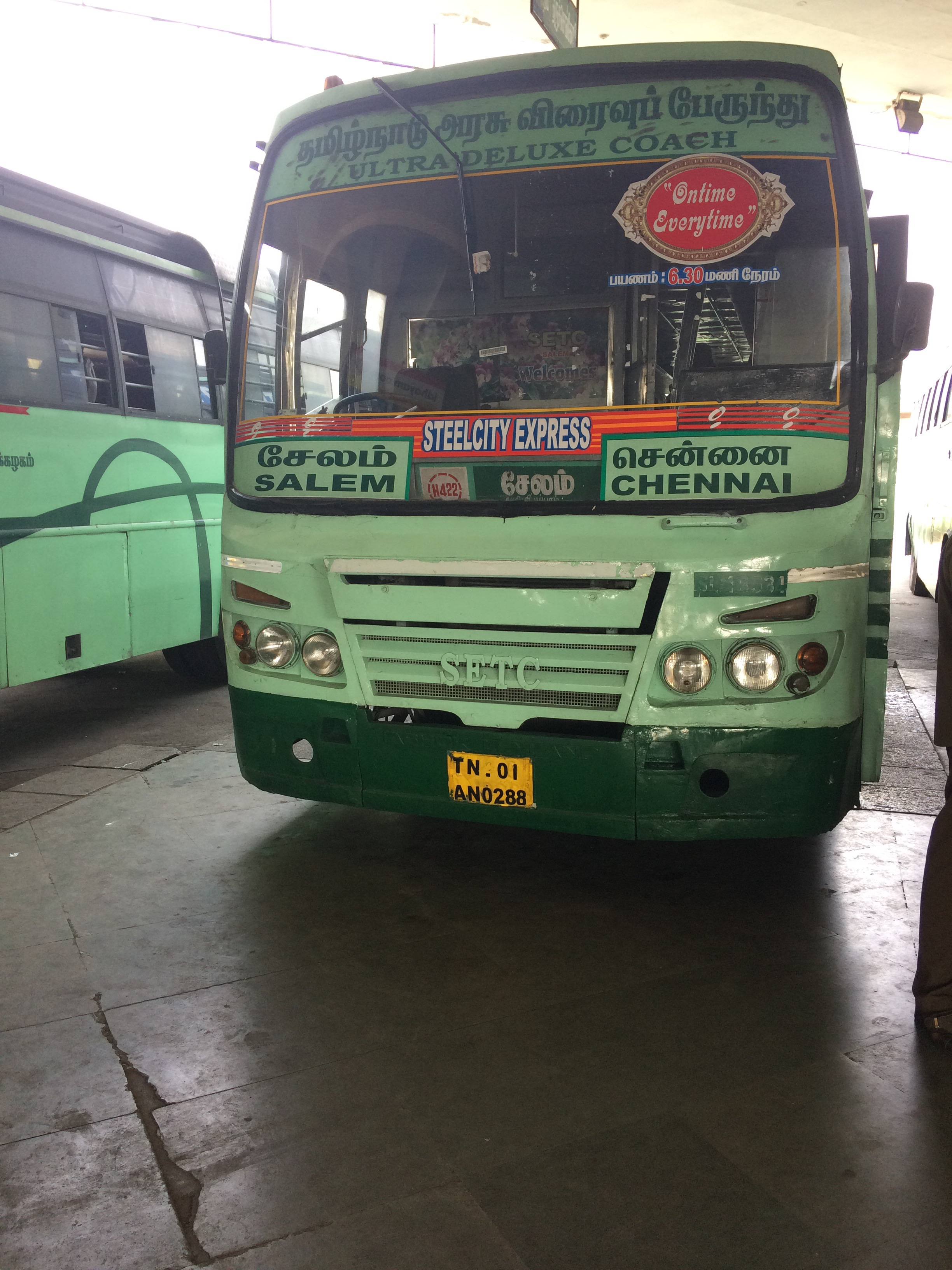 SETC Chennai To Salem