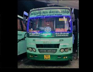 SETC bus timing Chennai To Madurai