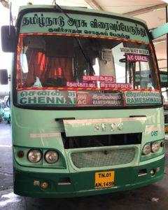 SETC AC Chennai to Rameshwaram