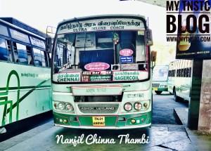 Nanjil Chinna Thambi Nagercoil To Chennai SETC H198 UD TN 01 AN 0967