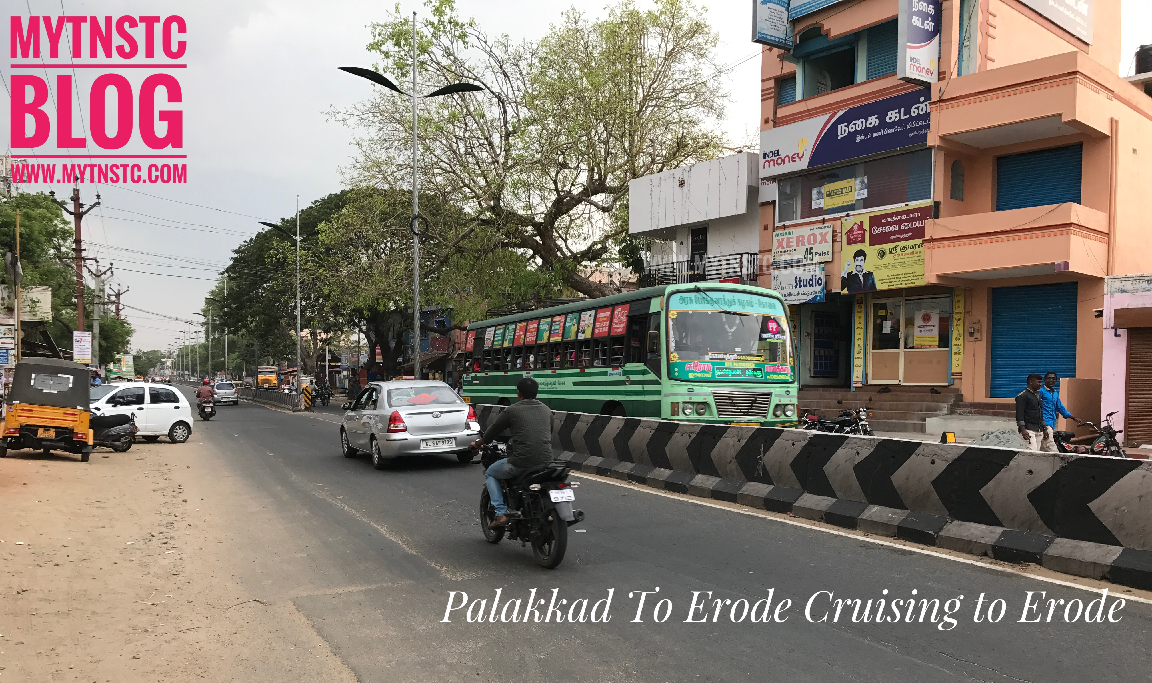 Erode To Palakkad Fast Passenger Service By TNSTC