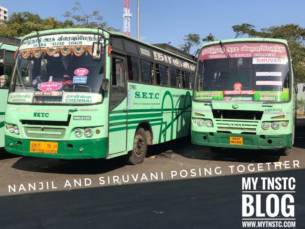 Kanyakumari To Velankanni SETC Bus Service 561 UD via Thanjavur , Tirunelveli