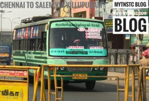 Salem To Chennai TNSTC Bus Timing Via Vellore