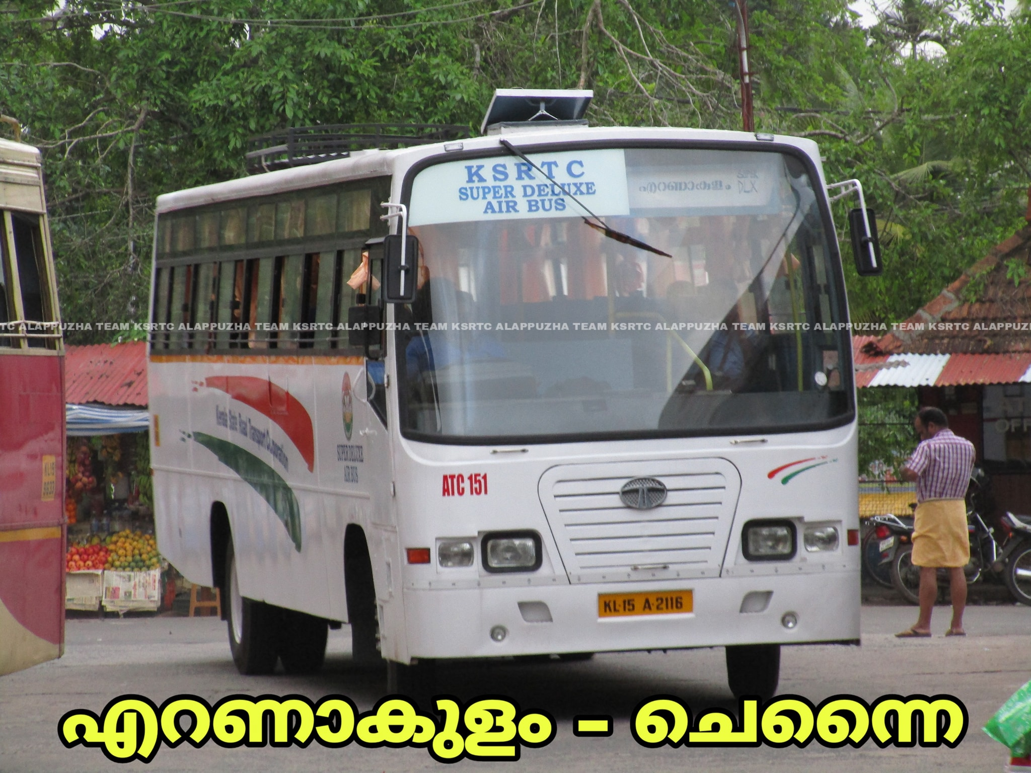 Chennai To Ernakulam KSRTC Super Deluxe Bus Service Timings COVID19 Special